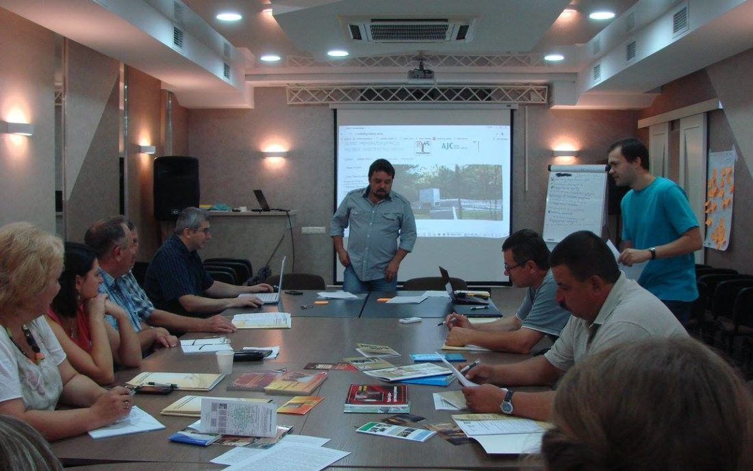 Seminar run by the Ukrainian Centre for Holocaust Studies for history teachers from the Vinnytsia and Zhytomyr regions, August 2017