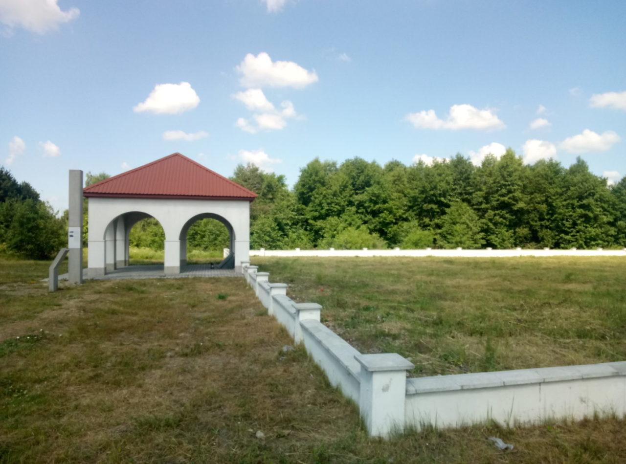 Rava-Ruska memorial site, July 2017