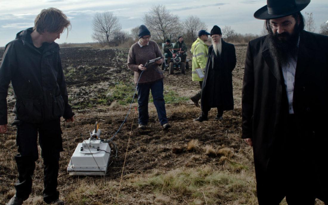 Дослідження ґрунту проводилось неінвазивними методами, з метою забезпечення спокою померлих, листопад 2016