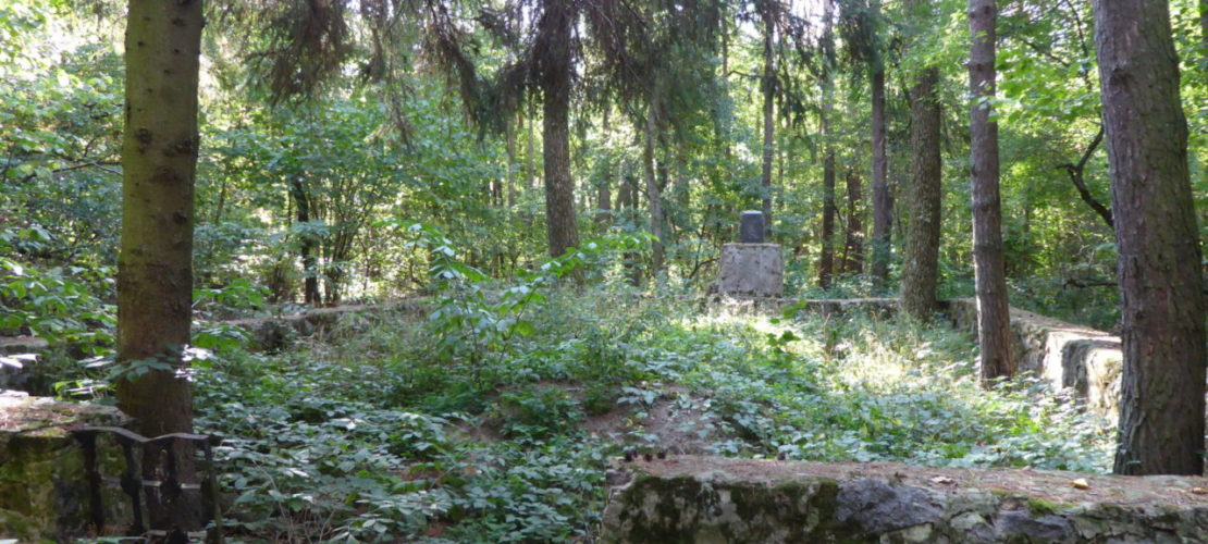 This mass grave of at least 400 Jewish victims in the middle of a forest near Vakhnivka, September 2017